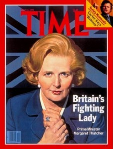 Britain's Fighting Lady cover of Time Magazine