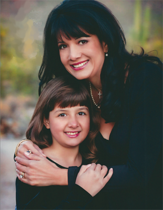 Roxanna Green with her daughter, Christina-Taylor Green | Photo: Jon Wolf