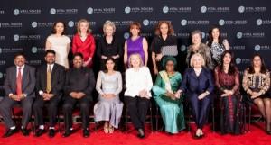 Hillary Clinton and Vital Voices Awards, 2013