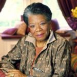 Maya Angelou on her birthday