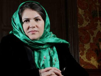 Fawzia Koofi, Afghanistan woman in Parliament/Photo: Graeme Robertson