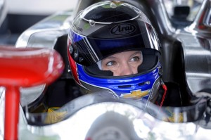 Katherine Legge--Indy 500 Race Car Driver--from her website