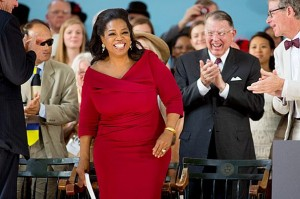 Oprah Winfrey Speaks at Harvard/5-31
