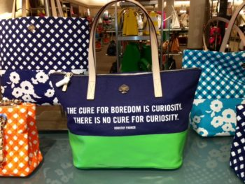 Spring Handbags in Nordstroms--kate Spade
