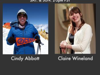 On TWE Radio: Adventurer Cindy Abbott, and Soaring Spirit Claire Wineland