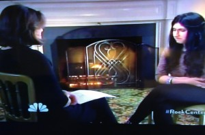 Ann Curry interviews Aesha on NBC News Rock Center