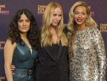 Chime for Change TV concert with Salma Hayek and Beyonce