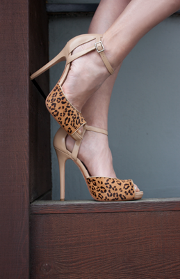 Leopard shoes from Milk & Honey