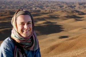 Marianne Elliott, author Finding Peace Through Yoga in Afghanistan