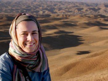 Marianne Elliott, author Finding Peace Through Yoga in Afghanistan