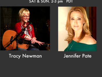 "TWE Radio Best Of Series with Singer-songwriter Tracy Newman and Jennifer Pate, co-author of ""The Mothers of Reinvention"""
