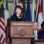 Valerie Jarrett Speech at Wellesley/Photo: Kathy Long, Wellesley College