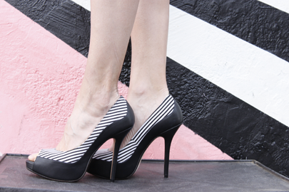 Black and White Milk & Honey shoes