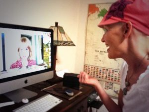 Ann Murray Paige on Skype with Stacey Gualandi, The Women's Eye