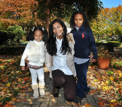 Giovanna, Tiffany and Elijah Burress