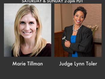On TWE Radio 'Best Of' Show: Marie Tillman and Judge Lynn Toler