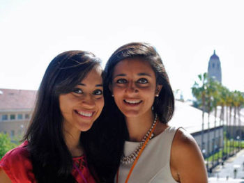 Ellora Israni and Ayna Agarwal, founders of she++