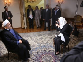 Ann Curry and President of Iran exclusive