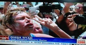 Diana Nyad completes swim Cuba-Florida