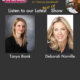 """TWE Radio 'Best Of' Podcasts with Guests Tanya Biank, Author of """"Undaunted,"""" and TV personality, Deborah Norville"""