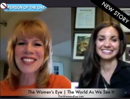 Stacey Gualandi and Treger Strasberg interview for The Women's Eye