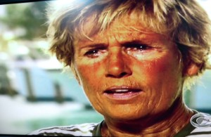 Diana Nyad after Swim to Florida/8-31