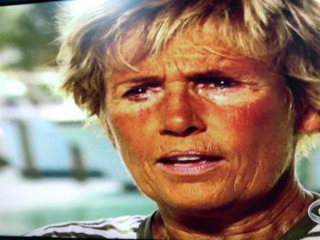 Diana Nyad after Swim to Florida/8-31