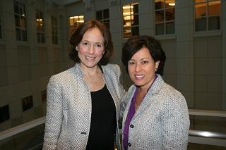 Holly Gordon, Shelly Esque, Pres. of the Intel Foundation