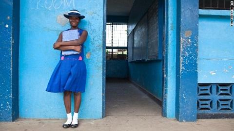 Girl Rising still, Marianna in Sierra Leone