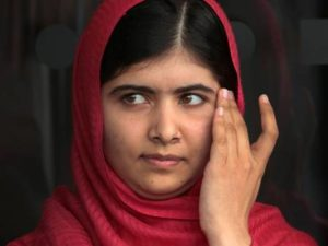 Malala at Birmingham Library