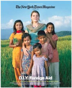 Maggie Doyne/NY TImes Cover