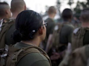 Three Women Graduate Marines/Photo: Paul Mancuso