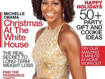 Michelle Obama on Ladies Home Journel Cover