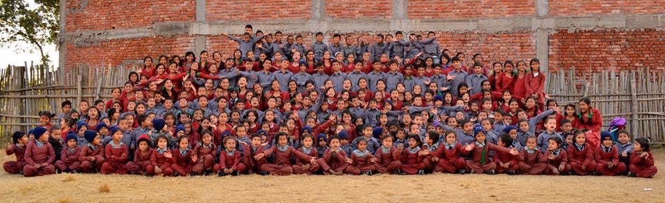 Maggie Doyne's 300 children in her school