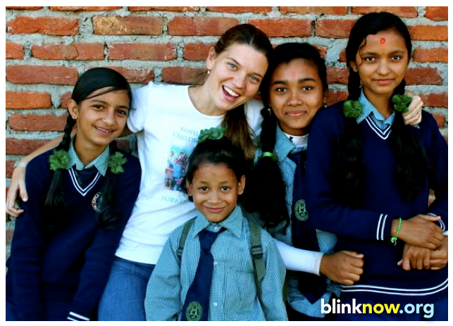 Maggie Doyne and BlinkNow