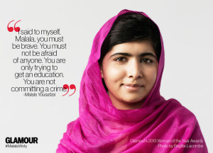 Malala Yousafzai wins 2013 Glamour of Year