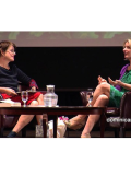 Authors Elizabeth Gilbert and Kelly Corrigan Talk Science, Spirit and Shoes