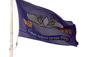 Women Air Florce Service Pilots Flag