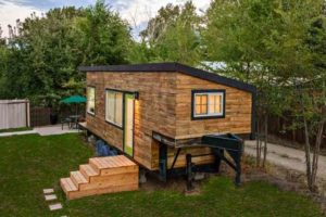 Tiny House built by Macy Miller/NPR