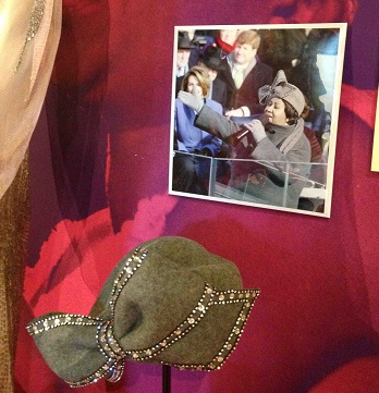 Aretha Franklin hat--Women Who Rock Exhibit--Photo: Janet Traylor