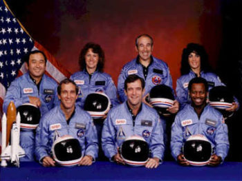 Challenger crew/Photo NASA
