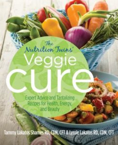Veggie Cure Book by the Nutrition Twins