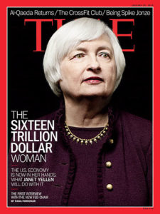 Janet Yellen, Time Magazine over