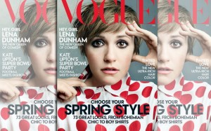 Lena Dunham Covers Vogue