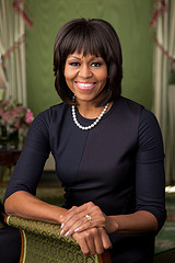Michelle Obama--White House Photo