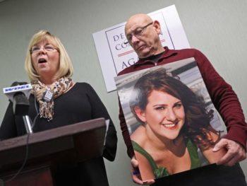 Sandy Phillips, mother of Jessica Redfield Ghawi, slain in urora massacre/Photo: Jennifer Corbett, The News Journal
