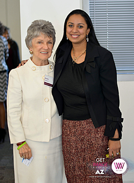 Anu Bhardwaj and Jerrie Ueberle, WIIW Summit/1/11/14