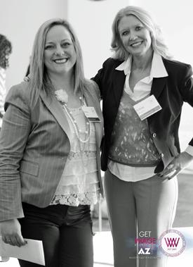 Sylvia Mah and Felena Hanson at WIIW, Summit