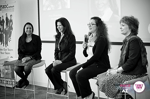 Entrepreneur panel at WIIW/Phoenix 1/11/14