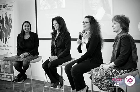 Entrepreneur panel at WIIW/Phoenix 1/11/14
